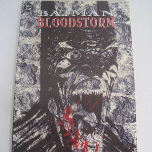 DC COMIC'S BATMAN BLOODSTORM DOUG MOENCH